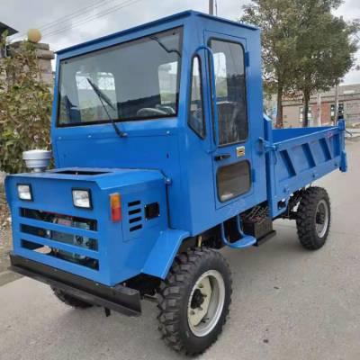 小型多功能农用拖拉机 鲁腾热销农用柴油四轮车 工程四驱运输车