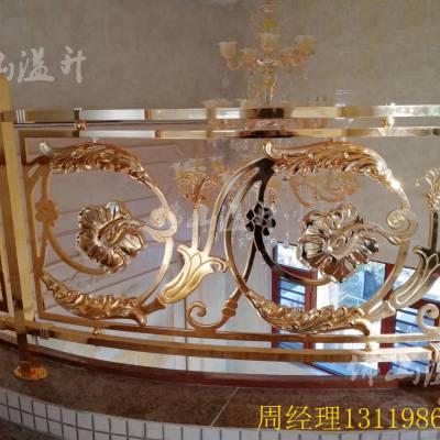 安徽芜湖青古铜艺术铜艺楼梯护栏多少钱一米