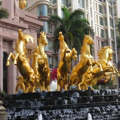 济南铸铜雕塑景观-铸铜雕塑景观来图制作-日照印象雕塑