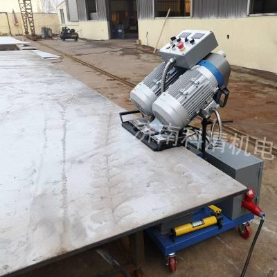淄博厂家小型自动刨边机 化工行业坡口光洁度3.2-6.3Ra 复合板光滑铣边设备