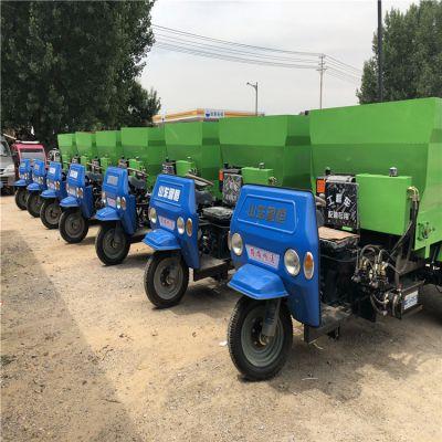 新疆牛场撒料车工作视频 找厂家低价撒料车