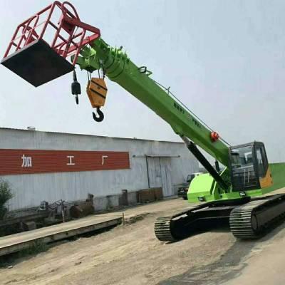 全地形运输车-工程履带吊运车-矿区专用履带吊