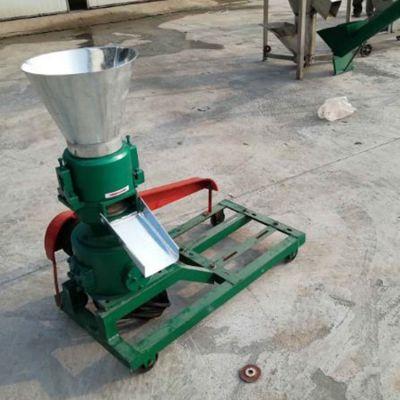 家禽养殖场专用平模饲料颗粒机饲料机械生产厂家