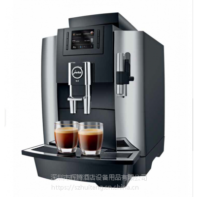 JURA优瑞咖啡机WE8 (一键式制作卡布基诺) 商用咖啡机