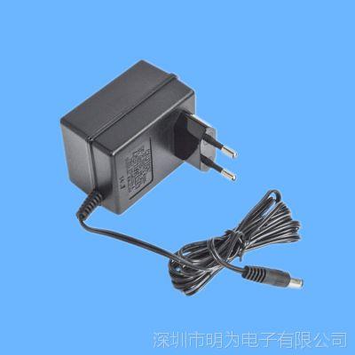 欧规直流线性电源6V/9V/12V/24V电源适配器工厂直销 明为