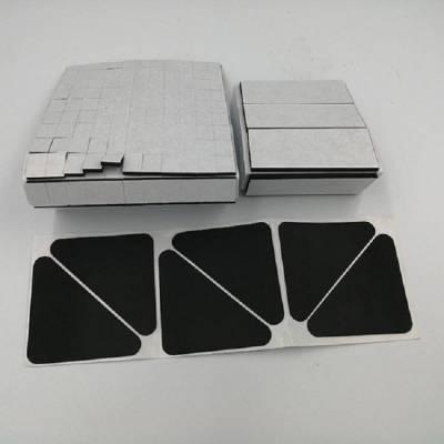 昆山eva减震泡棉胶垫,单面涂胶海绵垫规格成型