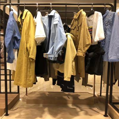 白沙女品牌女装折扣群折扣女装 库存外贸原单尾货服装