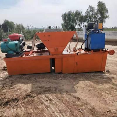 厂家直销高速路排水沟混凝土梯形渠道成型机 高铁梯形渠道衬砌机
