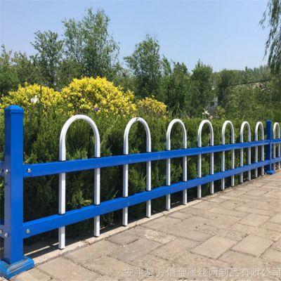 现货锌钢草坪护栏公园花草环保小栅栏花坛喷塑草坪围栏网厂家直销