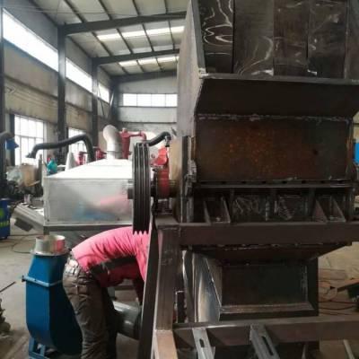 废旧塑料破碎机 塑料薄膜粉碎机 塑料破碎机产量