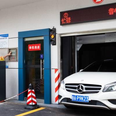 鹤岗市垂直升降式立体车库的专业生产厂家-深圳伟创