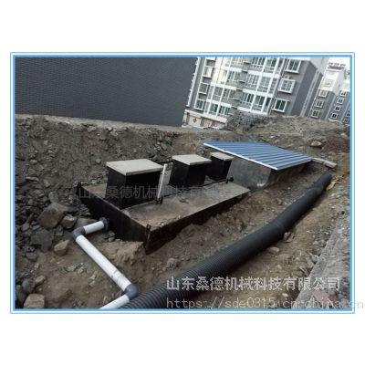 小区废水处理设备 山东厂家