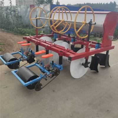 汽油施肥芹菜播种机 高粱播种机 红萝卜垄上播种机