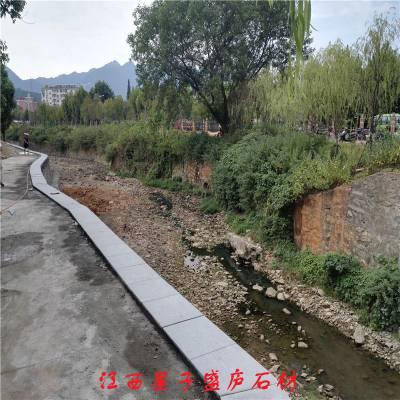 石雕栏杆|河道防护花岗石栏杆