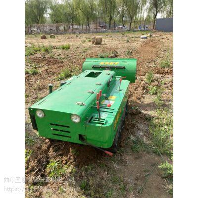 圣隆牌小型果园管理机 自带动力开沟施肥一体机