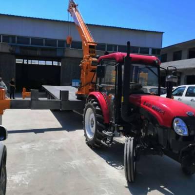 全液压拖拉机平板吊-小型随车吊-东方红拖拉机牵引吊