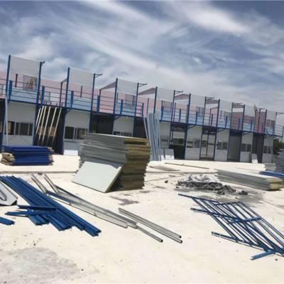 钢结构地台工艺-池州宏耀彩板钢结构-上海钢结构