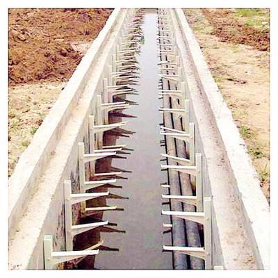 玻璃钢电缆桥架【找霈凯】电缆支架等玻璃钢系列产品安装方便