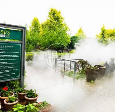 陕西冷雾降温喷雾设备价格 景观喷雾设备 推荐咨询