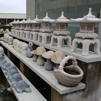 供应3.2米高花岗岩石雕石灯 精雕细琢 惠安源厂直销定做 寺院摆放
