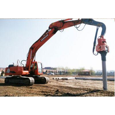 静安区拉森钢板桩施工租赁.DZJ-150振动锤打桩机租赁打拔钢板桩钢管桩水泥桩城市管廊围堰支撑施工