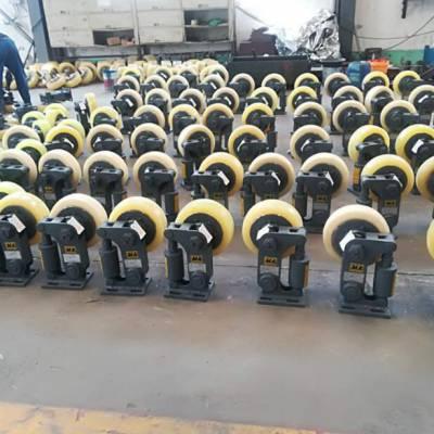 厂家生产矿用滚轮罐耳 L25缓冲式轻型罐耳滚轮 LS35双轮滚轮单罐轮