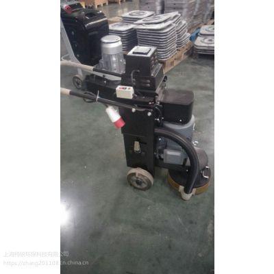 大功率手推式平面除锈抛光机 平面自动抛光机 钢板除锈磨抛机-特锐机械设备