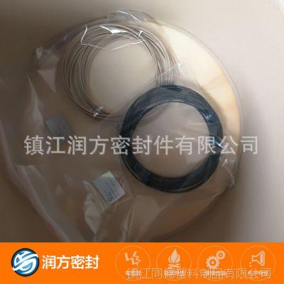 聚四氟乙烯填充碳纤维垫圈 PTFE填充增强聚苯酯密封圈 承接定制