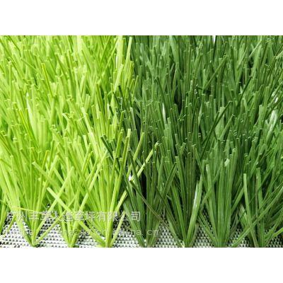 带筋草丝足球人造草坪PE材质人工草皮5公分人造假草皮