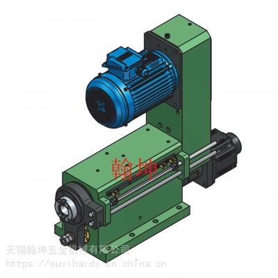 供应台湾翰坤hardy多工位组合机床伺服钻孔攻牙动力头SSD12