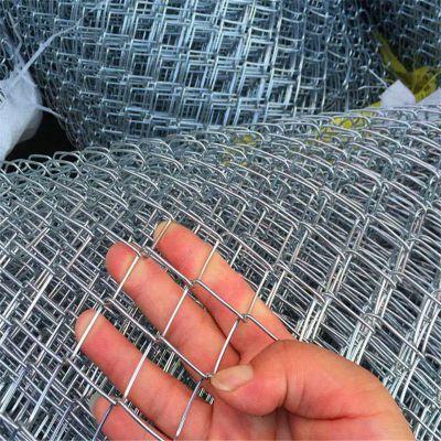 绿色铁丝菱形网/煤矿用铁丝网/勾花网现货厂家