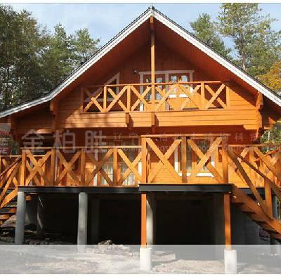 实木结构房屋厂家-金柏胜-温暖-黔东南实木结构房屋