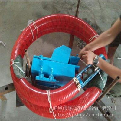 高效快速全自动弹簧软管抽料机 装卸粮食不费劲的吸粮机