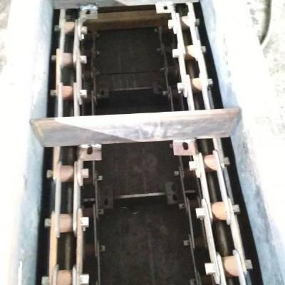 炉渣煤粉刮板式输送机 双板链刮板机
