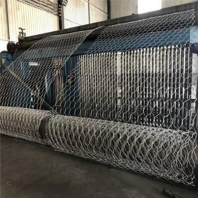 施工 热镀锌低碳钢丝格宾网 石笼挡墙