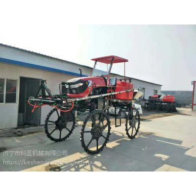 福建福州农用四轮水旱两用施肥机 高压打药机科圣机械
