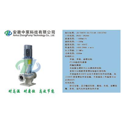 安徽中泵科技MLP50-6管道泵 不锈钢磁力管道泵