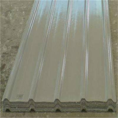 福建省宁德市820型包钢边1.0mm厚吸水率玻璃钢采光板FRP双层阳光板特价直销