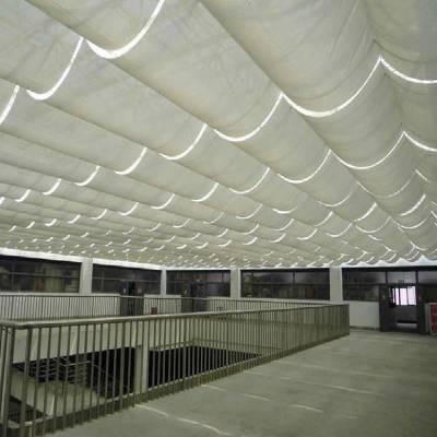 电动天棚帘生产厂家 曲周电动防风帘 电动遮阳帘 被动房卷帘窗生产厂家