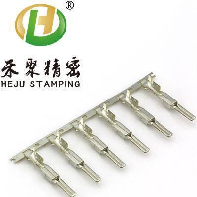 鲨鱼齿端子冲压厂家 不锈钢端子 定制精密pcb端子