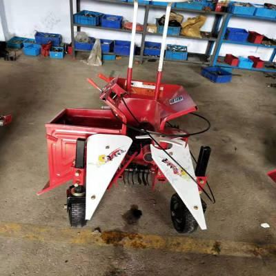 手扶动力单行玉米收获机秸秆粉碎玉米收割机