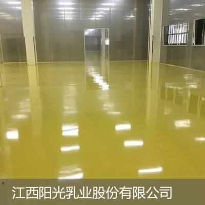 耐迪斯洁净医药厂房美观耐磨自流平彩砂地坪涂装