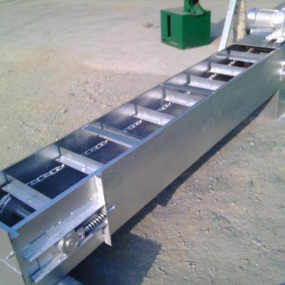 沙子刮板运输机 轻型散料输送机