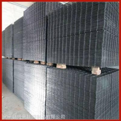 建筑网片兴来 黑铁丝网片 焊接钢丝网生产
