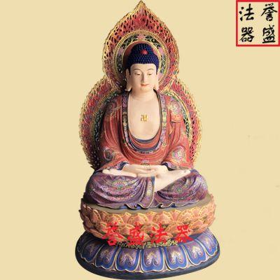 【一佛二弟子】佛教佛像_一佛二弟子_释迦佛