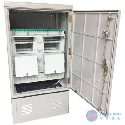 1152芯四网合一SMC光缆交接箱尺寸介绍