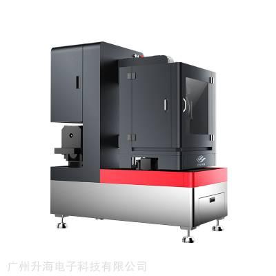 玉石切割机 小型 升海SH400翡翠微切机 全自动数控砂线快切