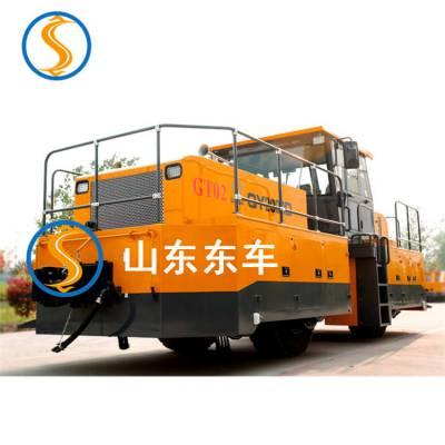 用于港口码头公铁循环型轨道牵引车额定输出扭矩满足铁路线