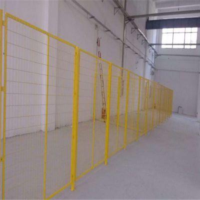 厂家供应车间防护网 仓库隔断网 机械设备浸塑围栏网