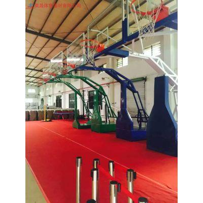 湖南学校篮球架生产厂家直销 NBA国际标准 长沙采用不锈钢等材质 结实又好看